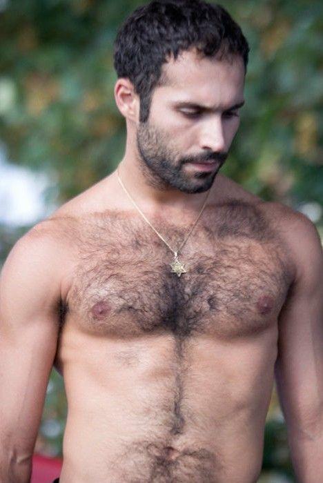 Scruffy hairy men