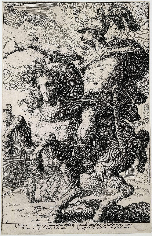 Výsledok vyhľadávania obrázkov pre dopyt hendrick goltzius marcus curtius