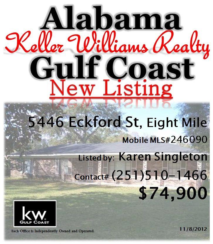 Eight Mile Alabama: New Listing In Eight Mile, AL By Karen Nicholson Singleton