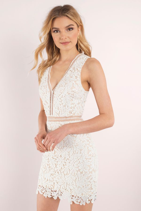 43fcdd4796762 Looking for the Lei Ivory And Nude Lace Bodycon Dress?   Find Bodycon  Dresses and