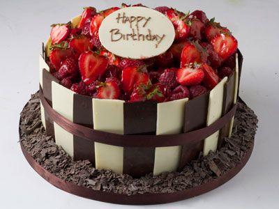 chocolate chocolate ganache cake celebration cakes birthday cakes ...