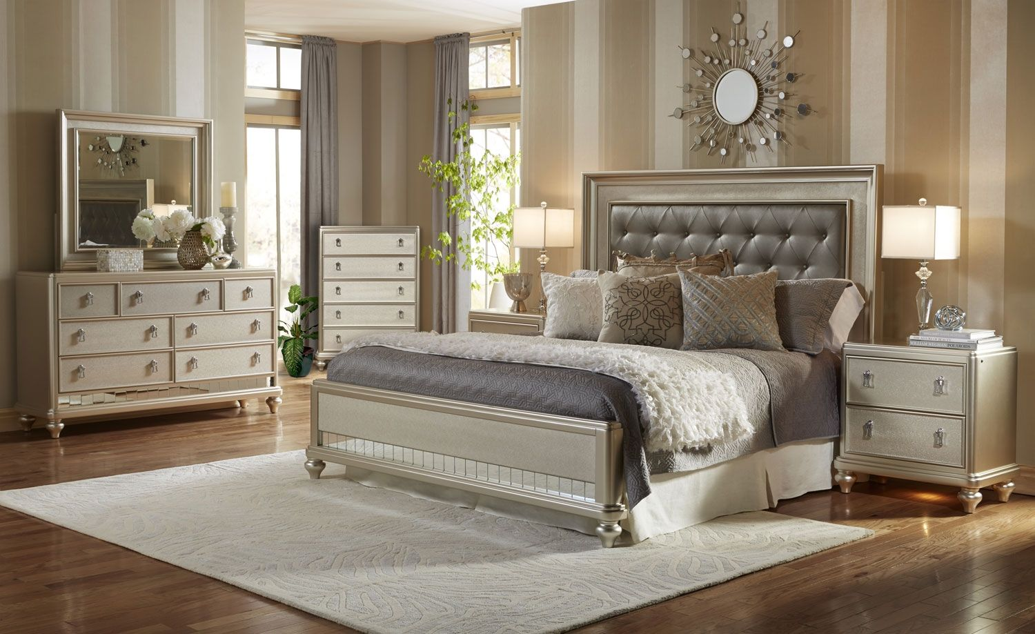Diva 8-Piece Queen Bedroom Package | Interiors - Bedrooms ...