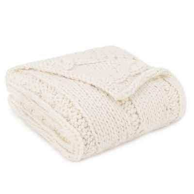 Ugg Throw Blanket Impressive Product Image For Ugg® Logan Chunky Knit Throw Blanket In Natural Decorating Inspiration