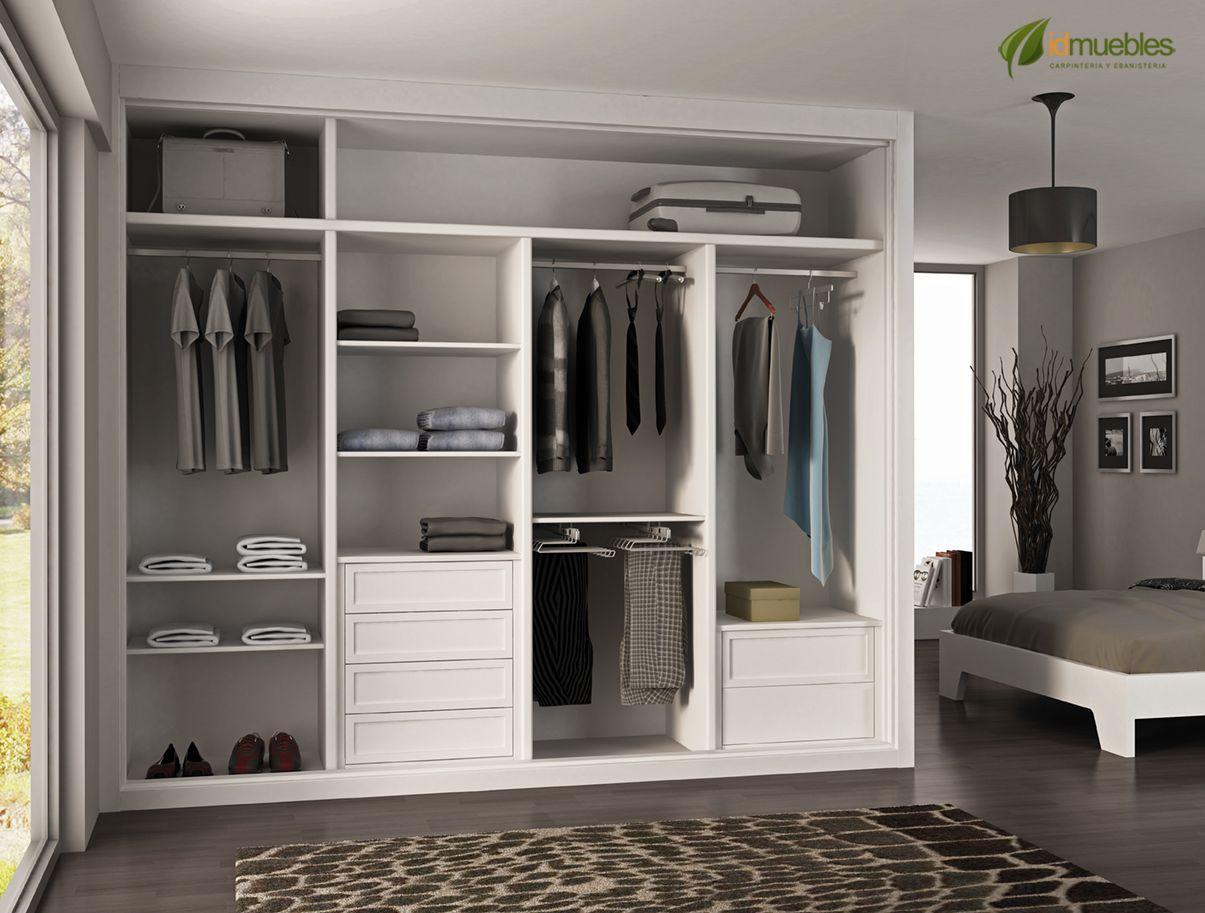 Pin de jorge v en closets pinterest - Ideas de armarios empotrados ...