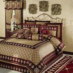 Photo of Roman Empire Fleur de Lis Comforter Bedding – – #bedding #Comforter #coolbedfo ….