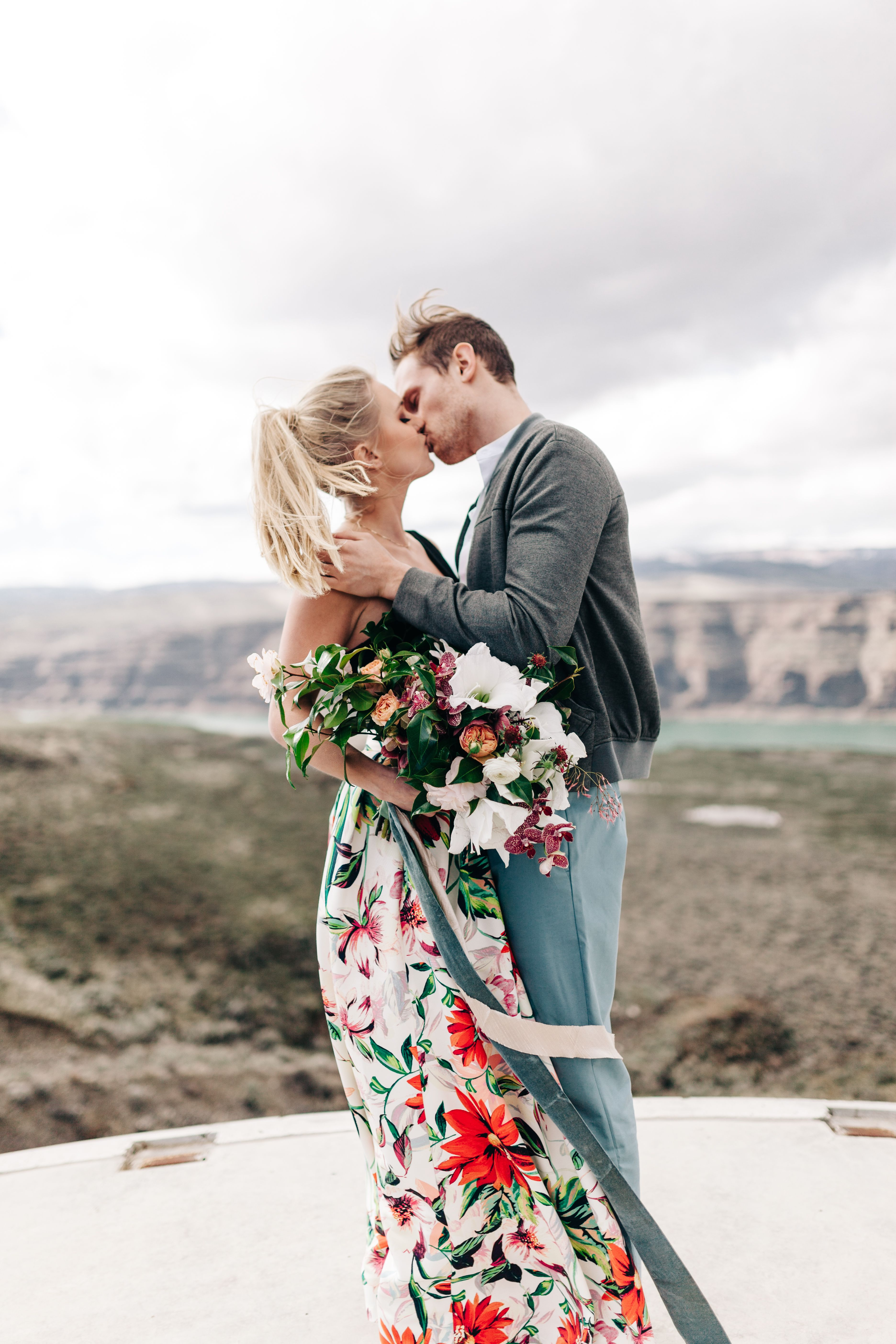 Check out more of Ali & Evan's engagement shoot at Cave B in Quincy, Washington.  On the blog today!
