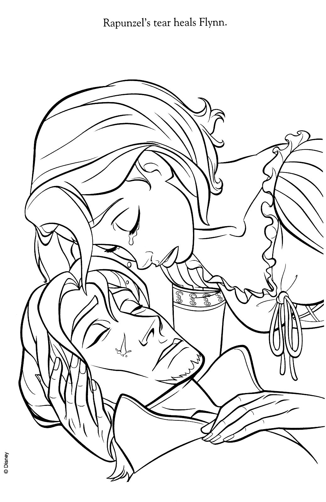 Tangled, Coloring Pages | Coloring books | Pinterest | Dibujos en ...