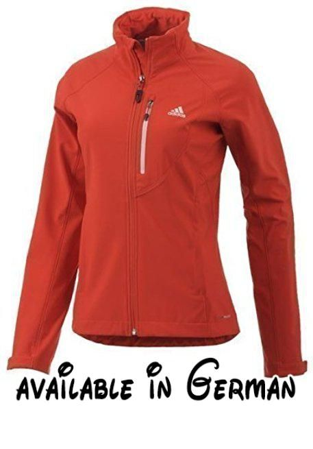 Adidas HIKING/TREKKING SoftShell Jacke Z22699 Rot Damen. The women's adidas  Terrex Swift Soft Shell Jacket is a lightweight mountain sports essenti…
