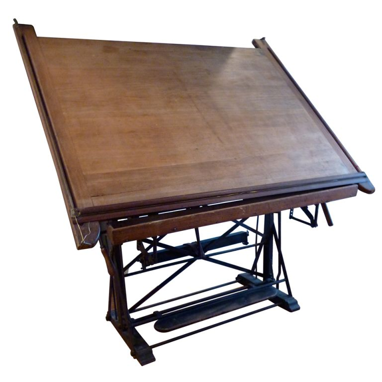 1stdibs | 19th Century French Drafting Table.