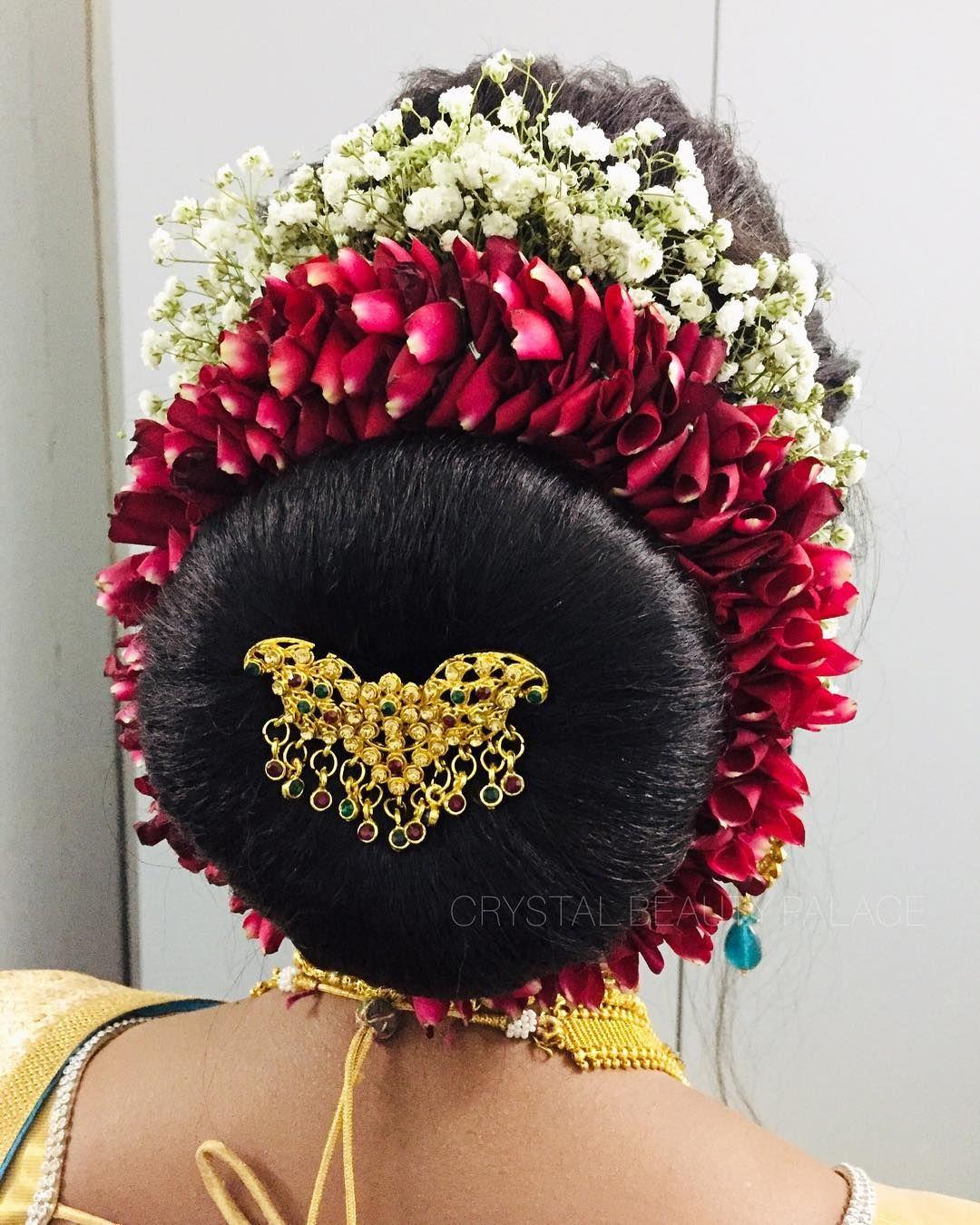 Timeless Elegant Bun Created With Rose Petals And Baby S Breath Bun Elegantbun Updo Hairstyles Rosepetals B Elegant Bun Bridal Hair Buns Rose Petals