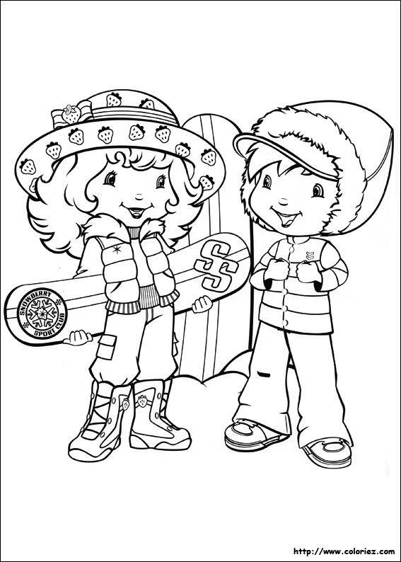 Coloriage Charlotte Aux Fraises A Colorier Dessin A Imprimer Free Cartoons Coloring Pages Strawberry Shortcake Coloring Pages
