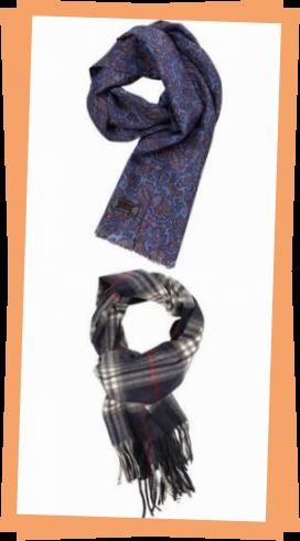 Photo of Silk scarves for men