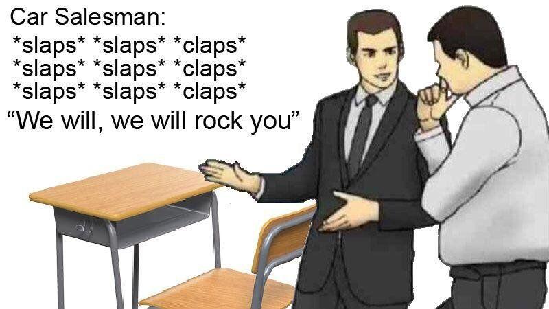 Car salesman is a 90's kid Car salesman memes