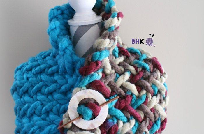 Easy Knit Hat   Easy knit hat, Beginner knitting patterns ...