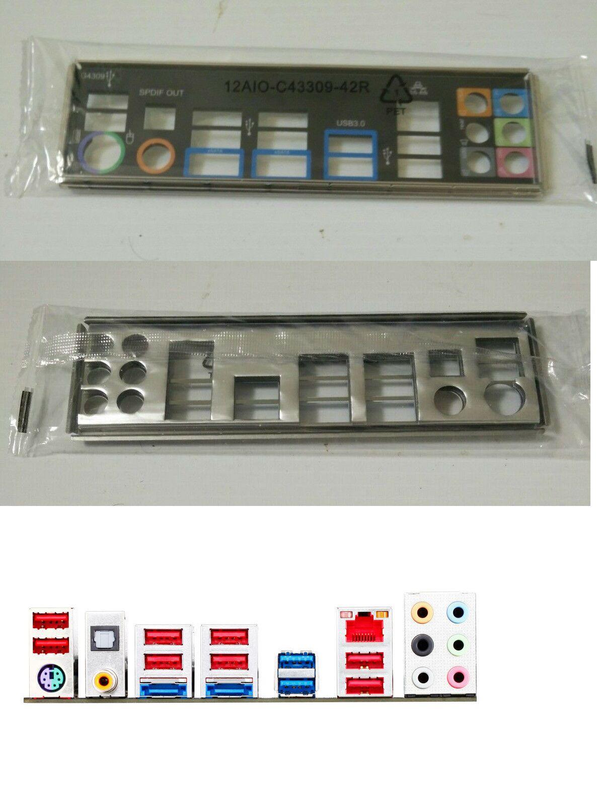 Motherboard Backplates 170080: New Genuine I O Io Shield Backplate