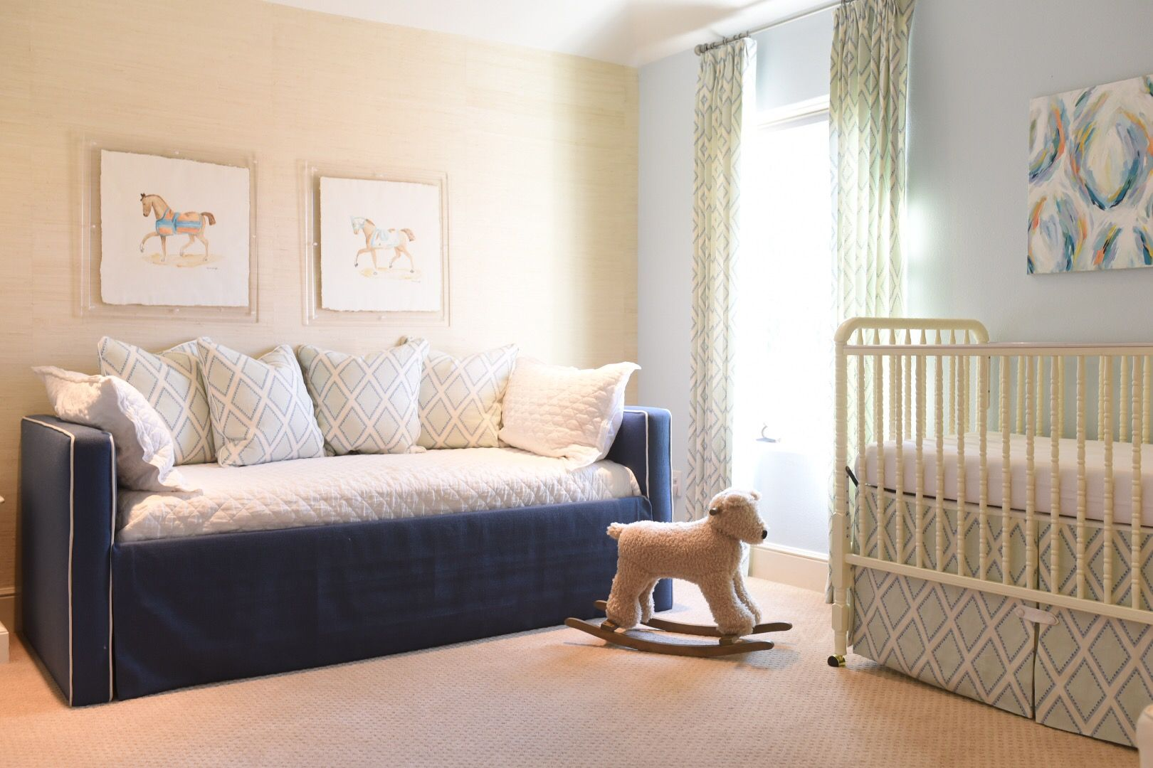Nursery Daybed In Our Client S Home Liven Up In Amazing