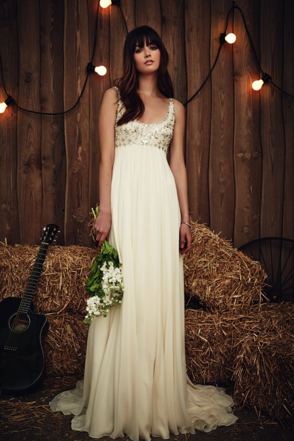 Empire Wedding Dress Jenny Packham Lingo Explained A Guide To Necklines And