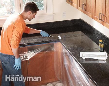 Granite Countertops How To Install Granite Tile Granite Tile Granite Countertops Countertops