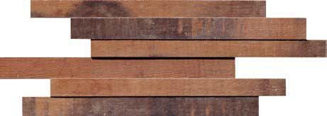 #OldWood #CherryBrown #3D #Boards #Mosaic from #MidAmericaTile   #InnovativeLooks #WoodLooks