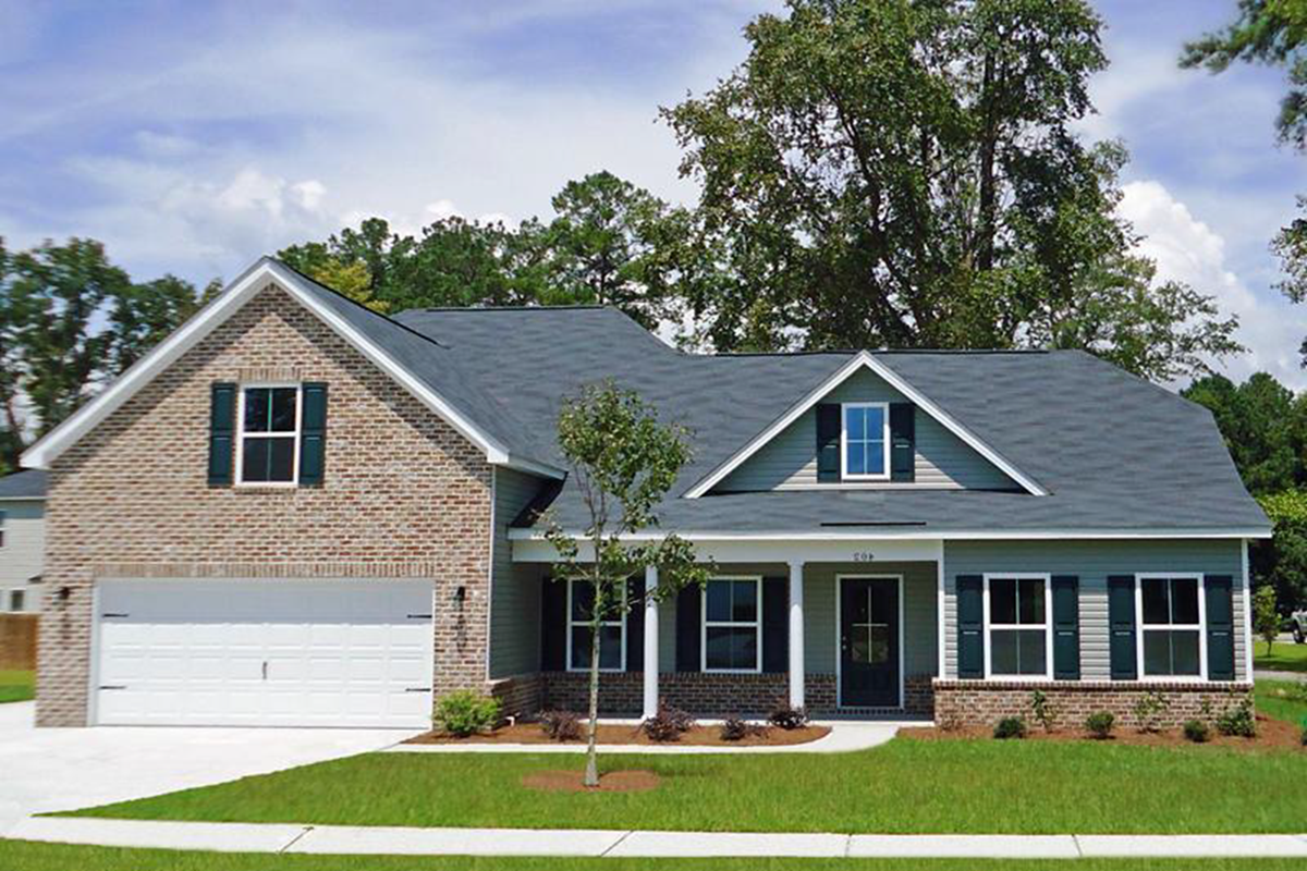 The Grayson Home Builders in Savannah GA Floor plans