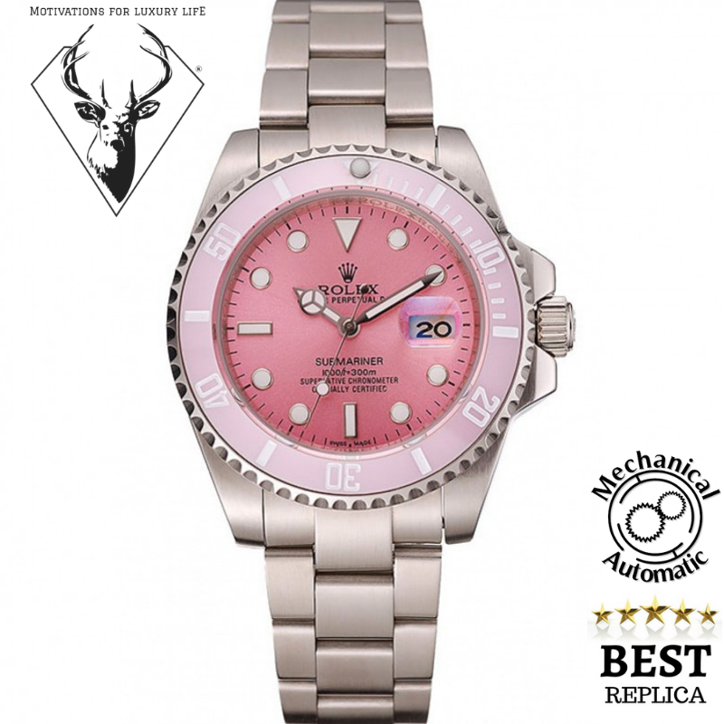 Rolex Submariner Pink (mechanical automatic)  234 in 2019  6a9a11b046