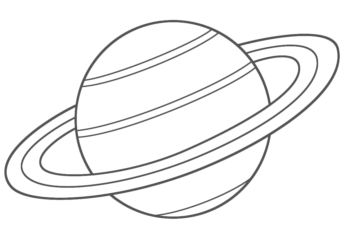 Planet coloring pages saturn | Galactic Starveyors | Pinterest