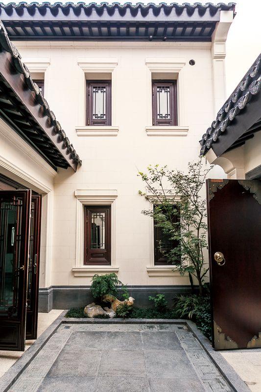 Chinese Architecture Interior Landscape Garden Facade Style Indoor Outdoor Courtyards Exterior Design