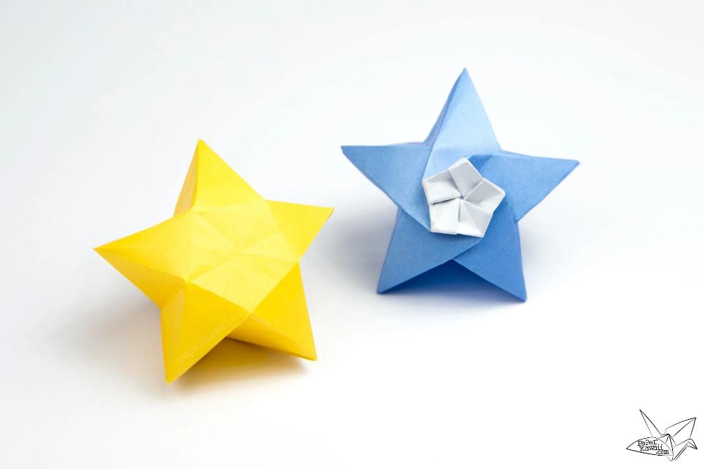 Photo of Origami Twinkle Star Tutorial – Puffy Stars – Paper Kawaii