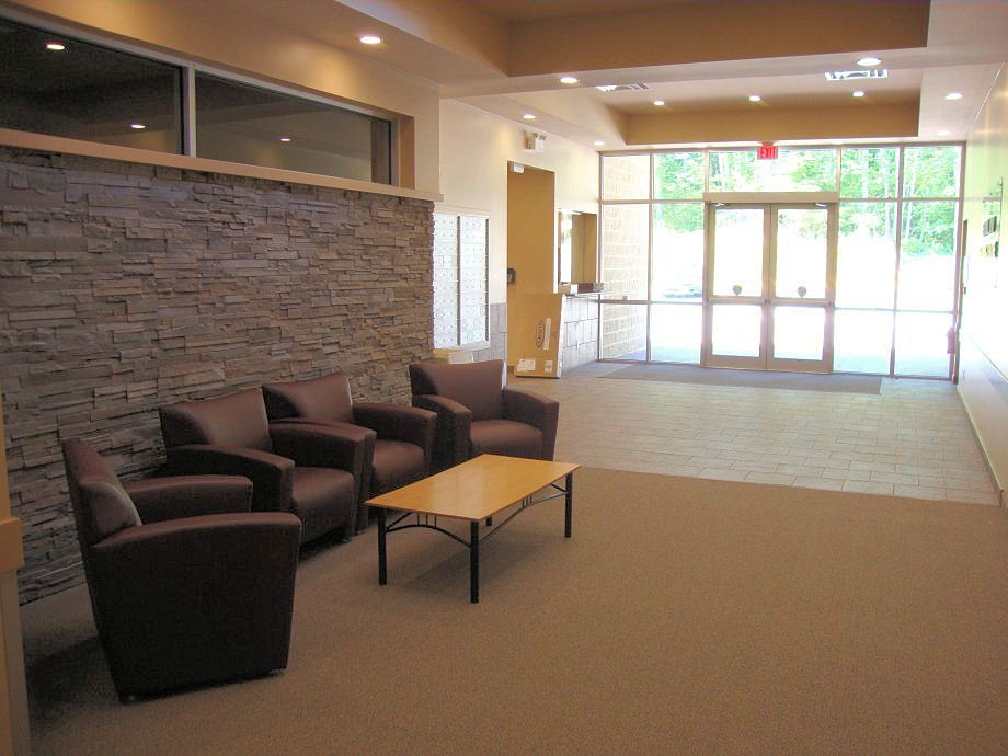 Church Foyer Furniture Ideas : Church entrance foyer summit pacific college our