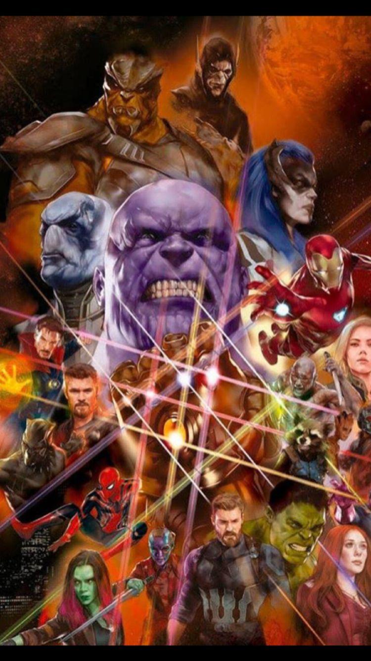 Avengers Infinity War Infinity Gauntlet Style Poster Official Not Fan Made Marvel Avengers War Comics
