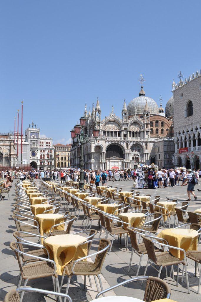 Gran Caffe Chioggia & Piazza San Marco ~ Venice, Italy