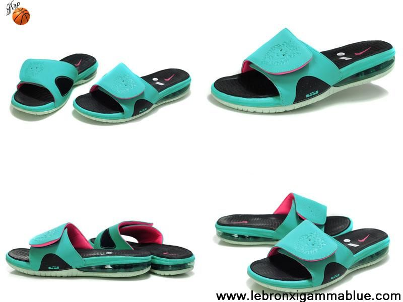 3ace7e4767c Sale Cheap Slippers Nike Air LeBron Slide South Beach 487332 400 For Sale