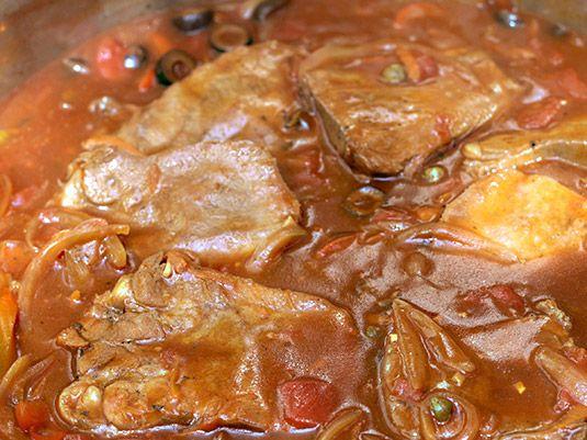 Lengua En Salsa Receta Lengua En Salsa Lengua De Res Recetas De Cocina