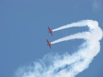 Show Off - Krakow Air show! - They deserve it!    #europe #Poland #Krakow #air #show #airplane #fly