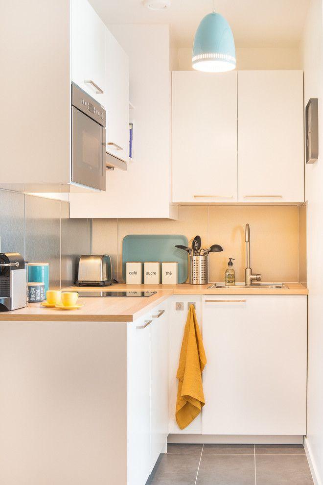 51 kleine Küche schöne Design-Ideen Küche Pinterest Kitchens - kleine küchen ideen