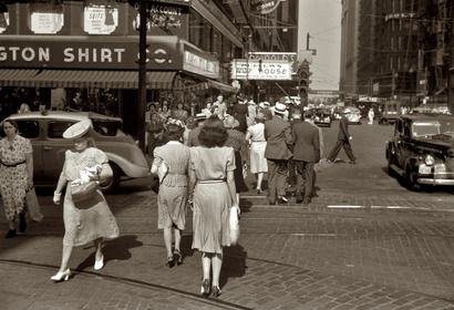 Washington and Dearborn (1941). Johh Vachon for the Farm Security Administration.