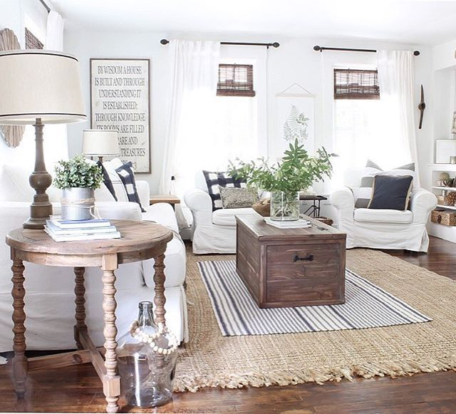 Getting To Point Where Am Done With Winter And Longing For Some Rustic  Living Room Curtains