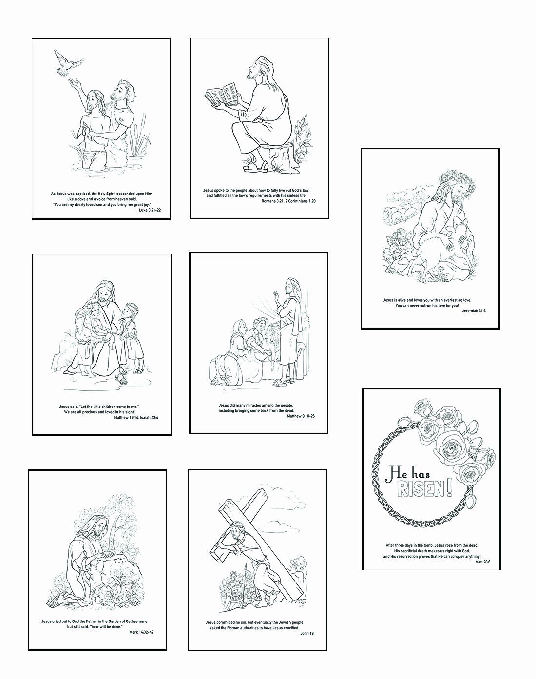 Easter Egg Hunt Coloring Page Awesome Christ Centered
