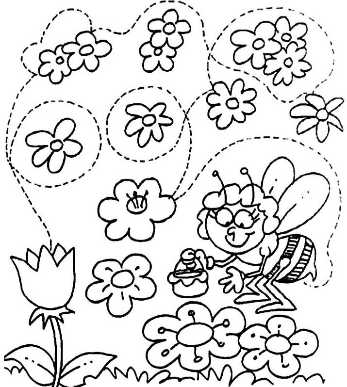 Welcome Spring Coloring Pages For Kids Kita Frhling Spring