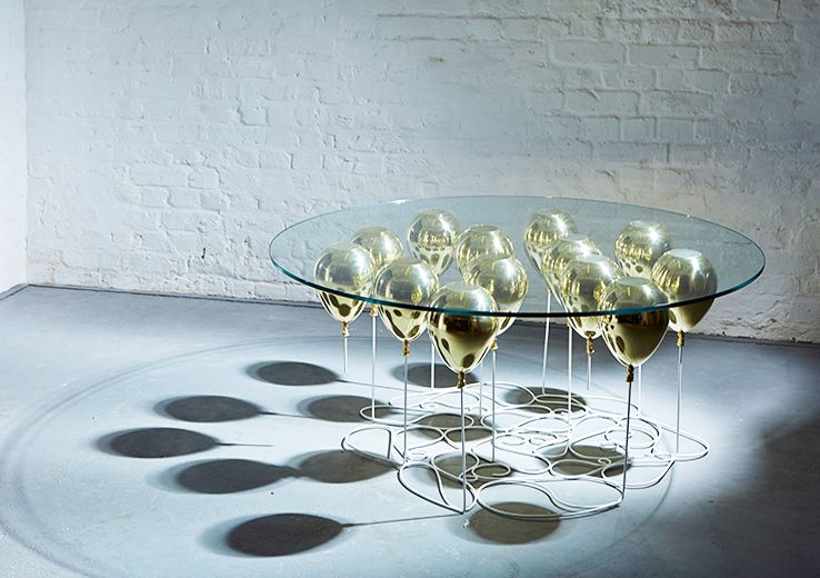 Beautiful The UP Balloon Table: Floating Furniture