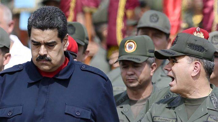 Alzamientos Militares demuestran indisciplina, descontento y baja moral entre Militares de Venezuela @CESCURAINA/Prensa en Castellano en Twitter