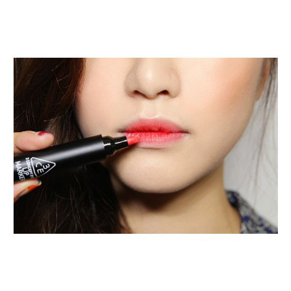 You're Going To Want To Try This New Korean Beauty Trend ❤ liked on Polyvore featuring lips