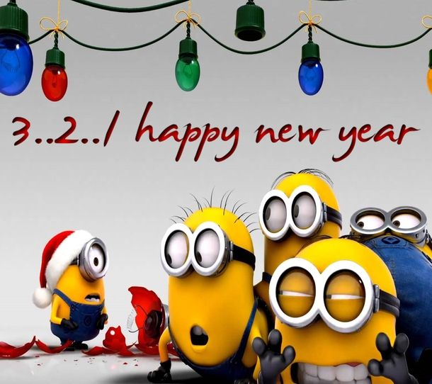 Crazy Happy New Year Quotes: 10 Happy New Year Minion Quotes