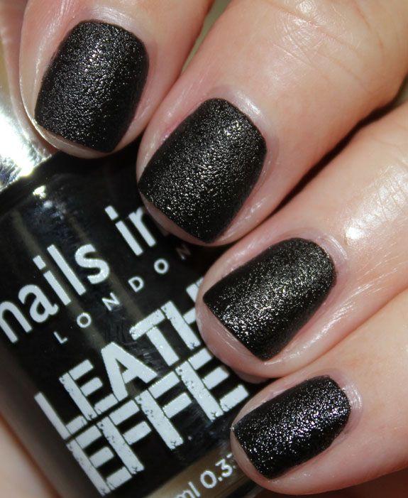 Nail Inc Leather Effect Noho Www Vampyvarnish