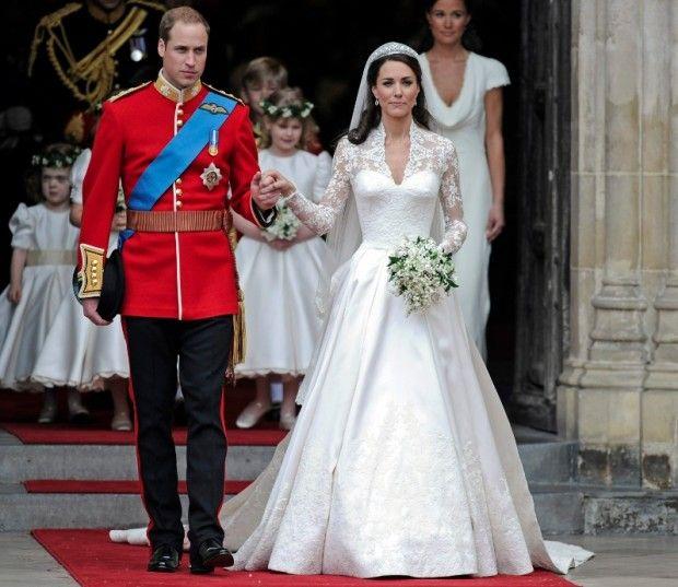 Prince William & Kate Middleton #royal #wedding