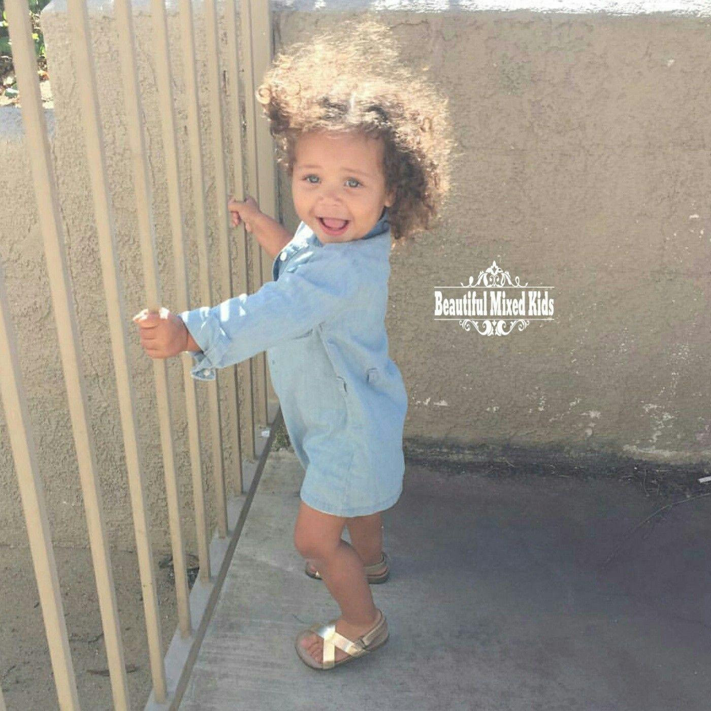 Meilani 1 Year • African American German Polish & Mexican