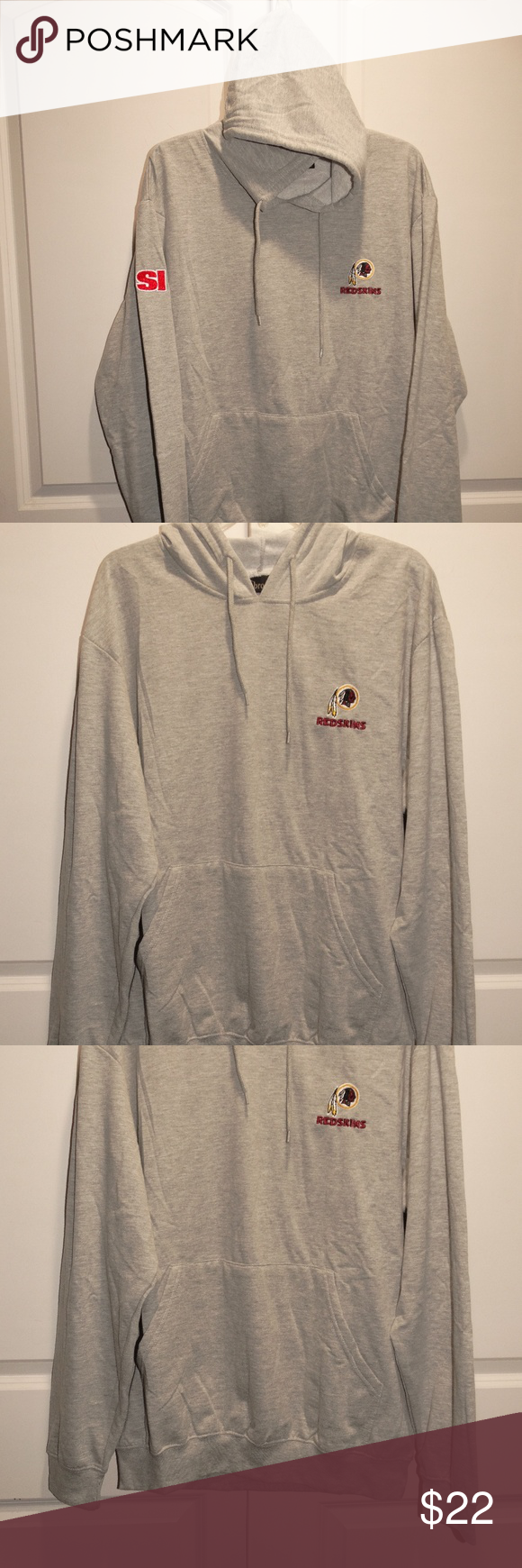 c70293130 WASHINGTON REDSKINS Sports Illustrated Hoodie XL Men s Size XL Item is New  with tags! Dallas