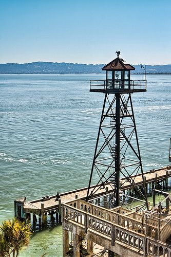 Alcatraz Watchtower San Francisco Travel San Francisco