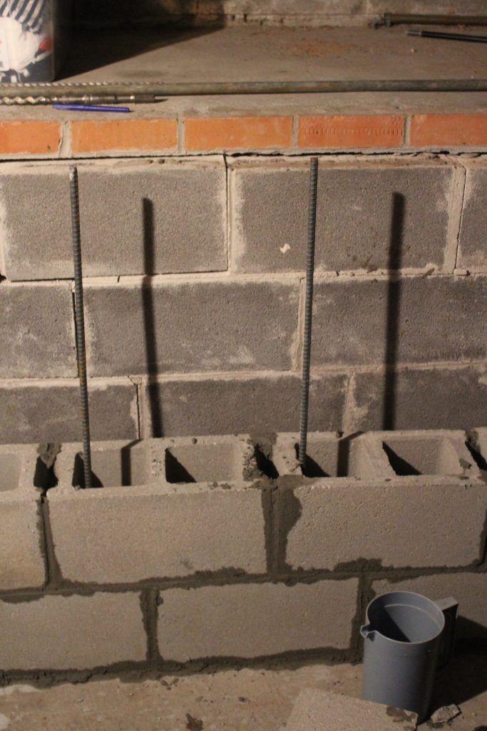 Block Wall Foundation Repair Concrete