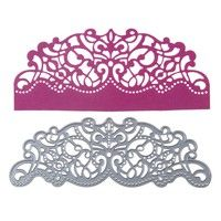 Hollow out flower frame Metal Cut Dies Scrapbooking Album Paper Card Stencil Bd
